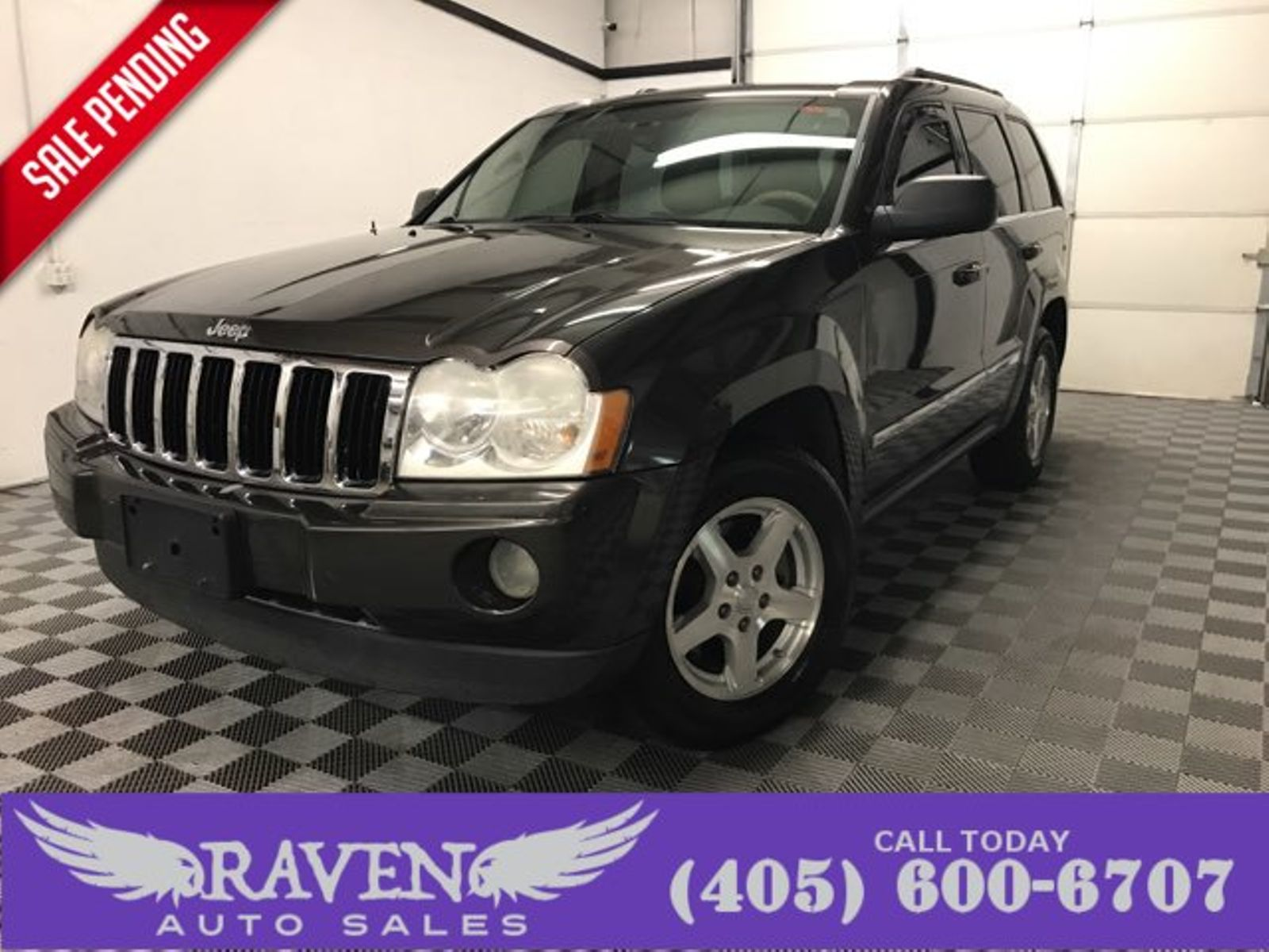 2006 Jeep Grand Cherokee Limited 4x4 Sunroof City Oklahoma Raven Trailer Wiring Harness Auto Sales In
