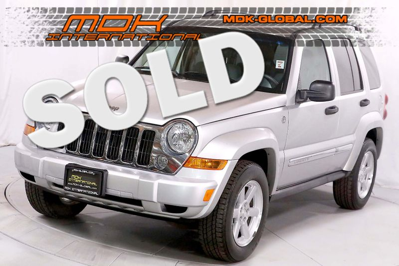 2006 Jeep Liberty Limited - 4x4 - 37L V6 - 17 wheels  city California  MDK International  in Los Angeles, California