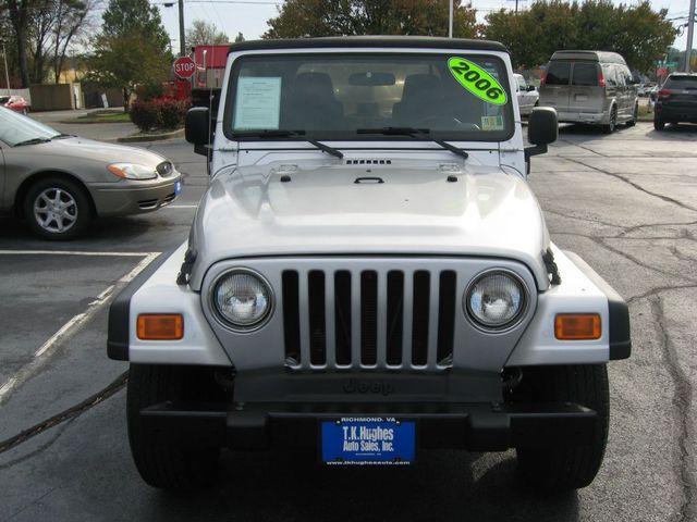2006 Jeep Wrangler 4X4 X Richmond, Virginia 2