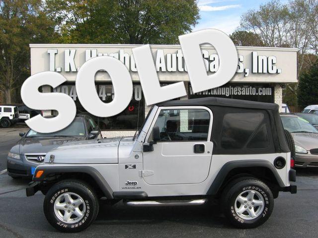 2006 Jeep Wrangler 4X4 X Richmond, Virginia