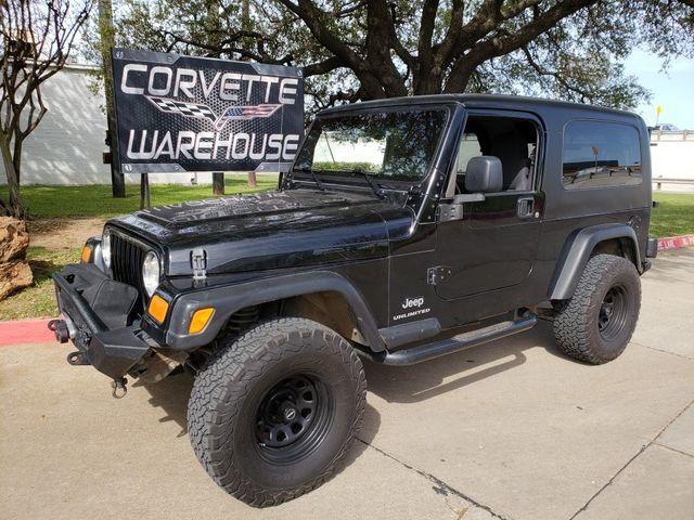 2006 Jeep Wrangler Unlimited Auto, Step Rails, Towing, NICE! | Dallas, Texas | Corvette Warehouse  in Dallas Texas
