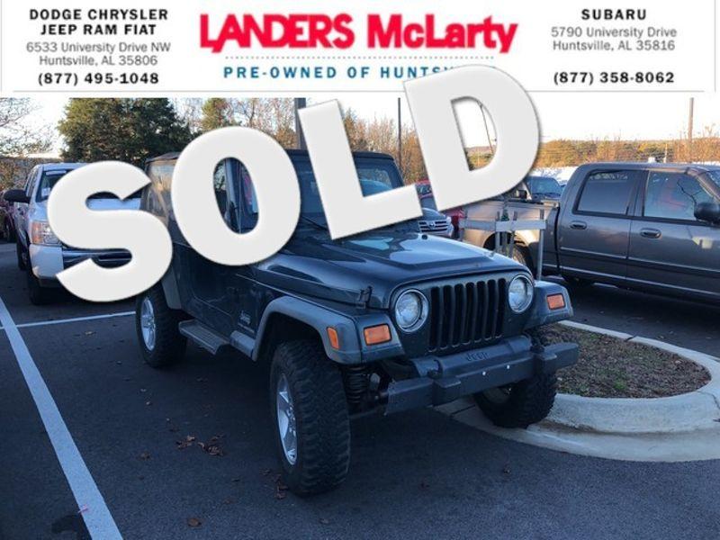 2006 Jeep Wrangler Unlimited LWB | Huntsville, Alabama | Landers Mclarty DCJ & Subaru in Huntsville Alabama