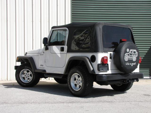 2006 Jeep Wrangler Sport Jacksonville , FL 42