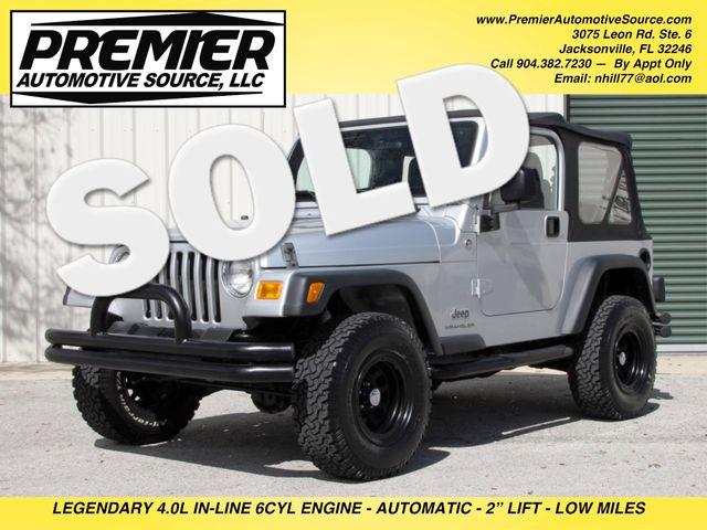 2006 Jeep Wrangler SE Jacksonville , FL 0