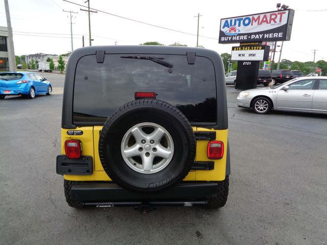 2006 Jeep Wrangler X in Nashville, Tennessee 37211