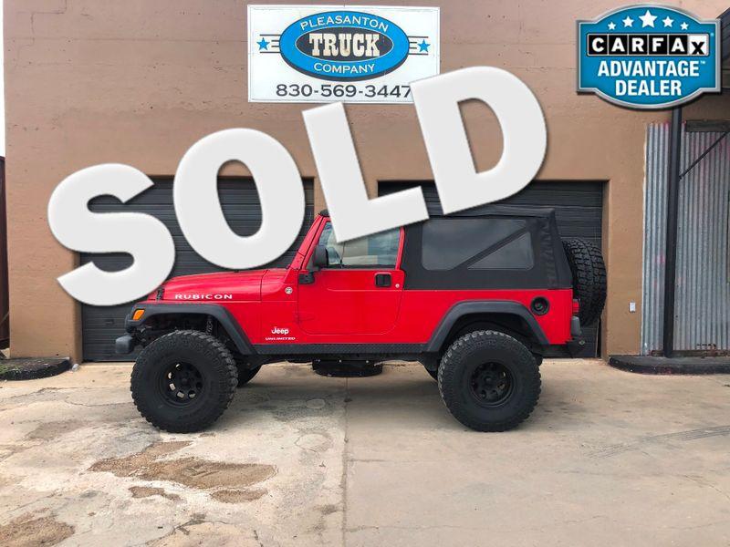 2006 Jeep Wrangler Unlimited Rubicon LWB | Pleasanton, TX | Pleasanton Truck Company in Pleasanton TX