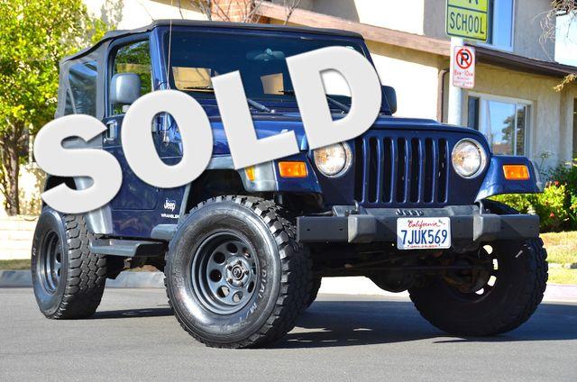 2006 Jeep Wrangler Sport Reseda, CA