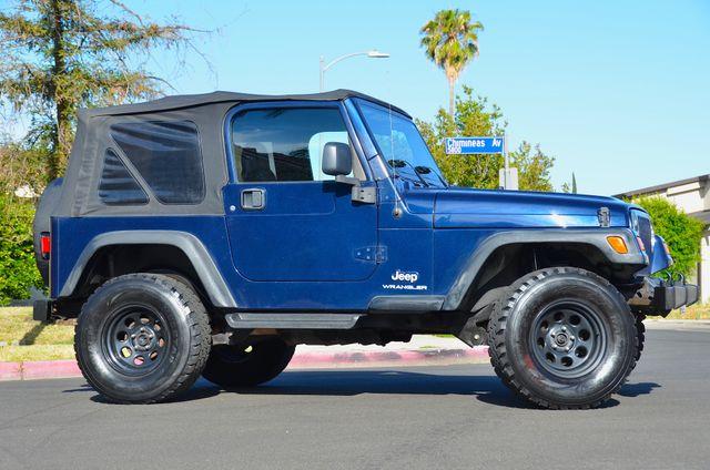 2006 Jeep Wrangler Sport Reseda, CA 2