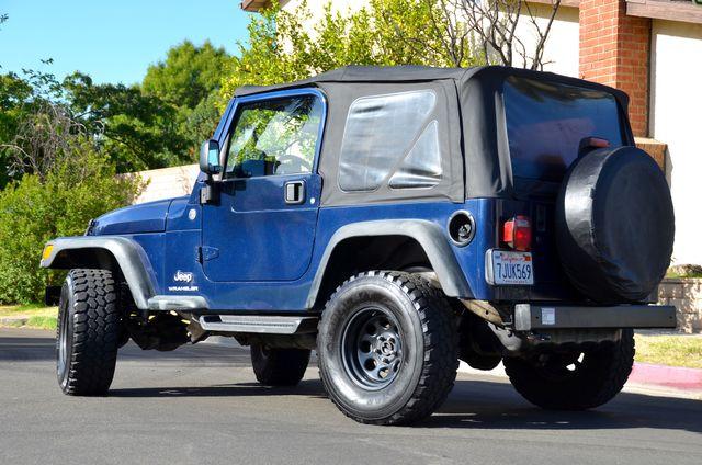 2006 Jeep Wrangler Sport Reseda, CA 4