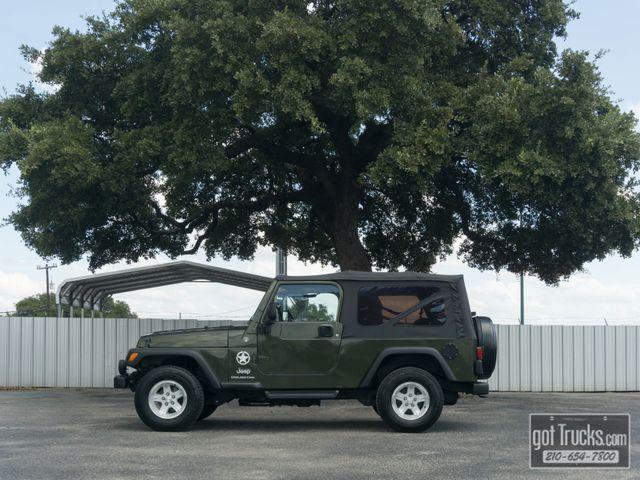 2006 Jeep Wrangler Unlimited LWB 4.0L 4X4