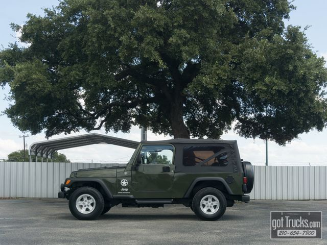 2006 Jeep Wrangler Unlimited LWB 4.0L 4X4