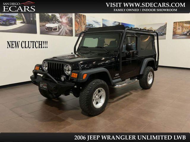 2006 Jeep Wrangler Unlimited LWB in San Diego, CA 92126