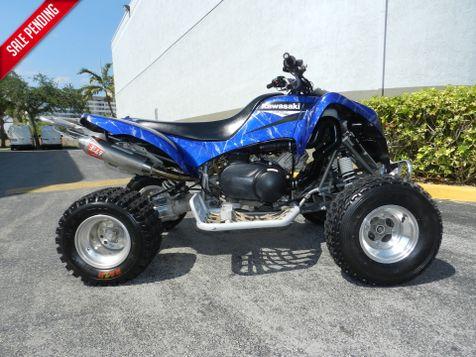 2006 Kawasaki KFX700 IG KFX 700  AUTOMATIC in Hollywood, Florida