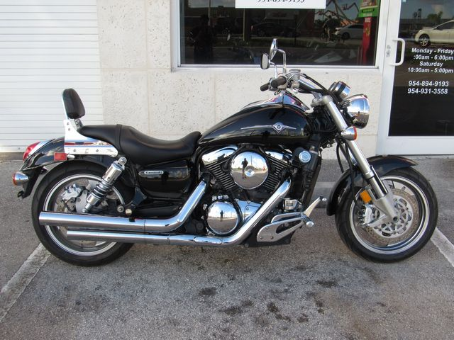 2006 Kawasaki Vulcan 1600 Mean Streak Dania Beach Florida Top