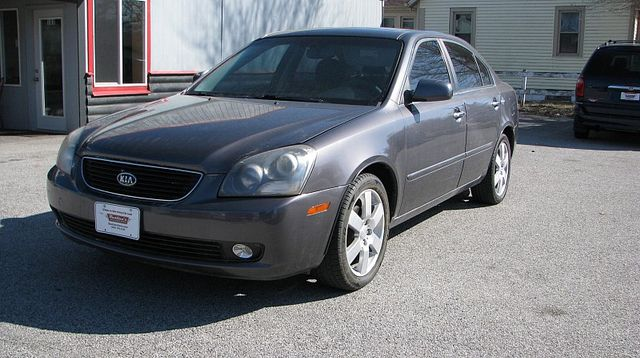 2006 Kia Optima 4d Sedan EX (2006.5)