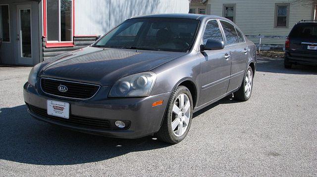 2006 Kia Optima 4d Sedan EX (2006.5)