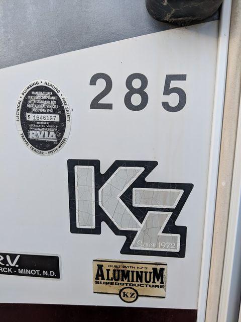 2006 Kz Durango 285RL Mandan, North Dakota 1
