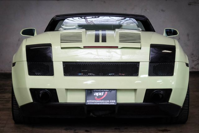 2006 Lamborghini Gallardo Spyder Awd