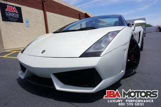 2006 Lamborghini Gallardo Spyder Convertible Balloon White Navi Rear Cam LP   MESA, AZ   JBA MOTORS in Mesa AZ