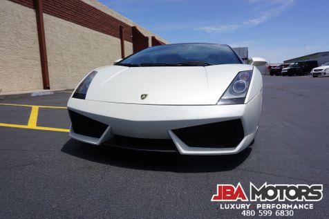 2006 Lamborghini Gallardo Spyder Convertible Balloon White Navi Rear Cam LP   MESA, AZ   JBA MOTORS in MESA, AZ