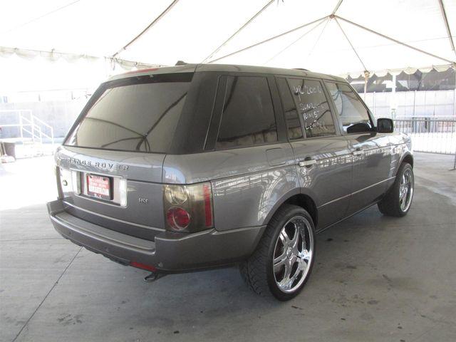 2006 Land Rover Range Rover HSE Gardena, California 2