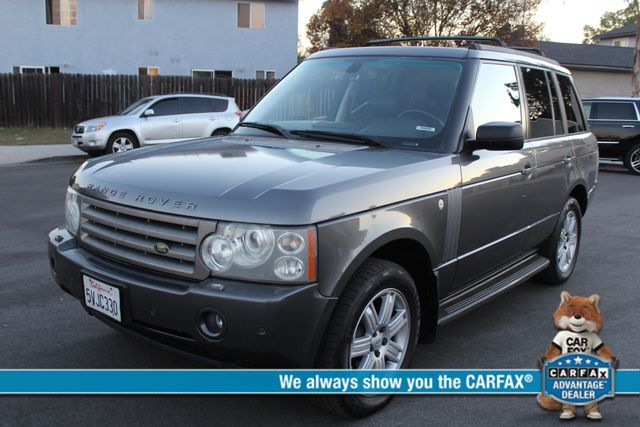 2006 Land Rover RANGE ROVER HSE LUXURY NAVIGATION REAR ENTERTAINMENT SERVICE RECORDS