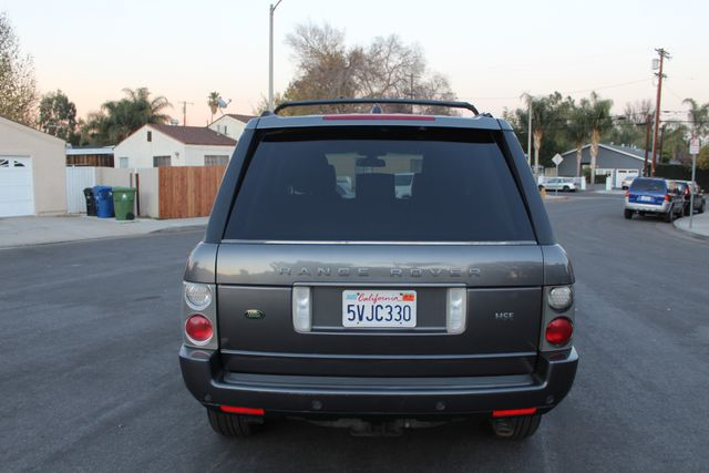 2006 Land Rover RANGE ROVER HSE LUXURY NAVIGATION REAR ENTERTAINMENT SERVICE RECORDS in Van Nuys, CA 91406