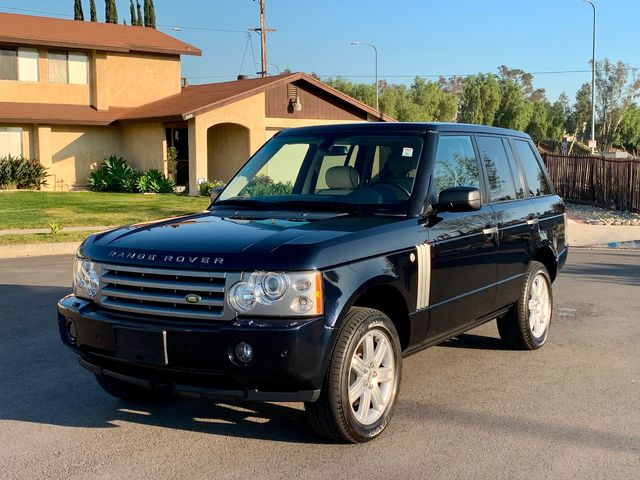 2006 Land Rover RANGE ROVER HSE NAVIGATION DVD XENON LEATHER NEW TIRES SERVICE RECORDS in Van Nuys, CA 91406