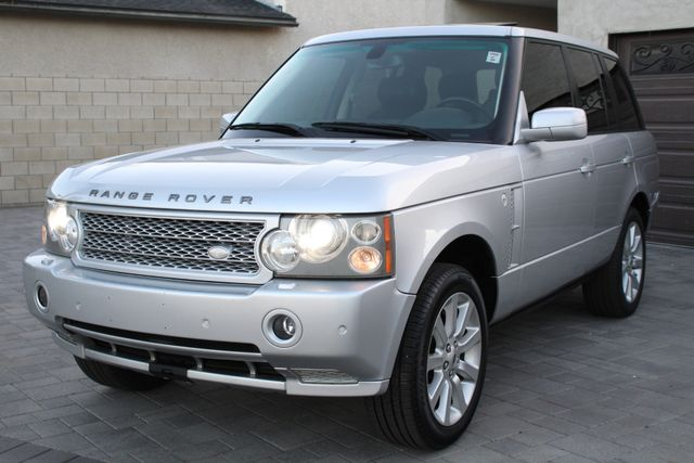 2006 Land Rover RANGE ROVER SC NAVIGATION SERVICE RECORDS REAR DVD in Van Nuys, CA 91406