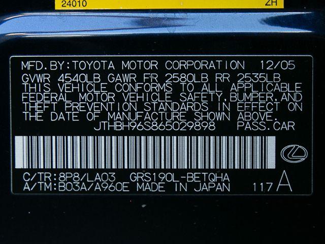 2006 Lexus GS 300 Burbank, CA 30