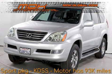 2006 Lexus GX470 - Sport pkg - KDSS - Nav - DVD - M/L Sound in Los Angeles