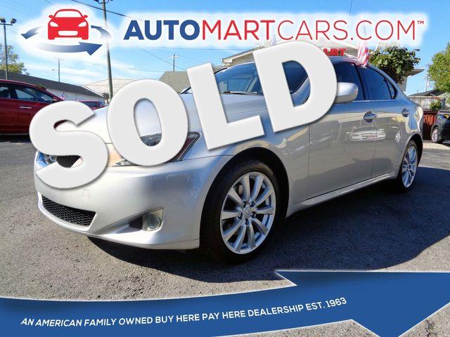 2006 Lexus IS 250 Auto | Nashville, Tennessee | Auto Mart Used Cars Inc. in Nashville Tennessee