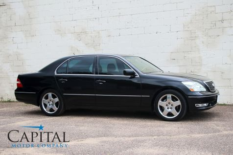2006 Lexus LS430 V8 Luxury Car w/Navigation, Rear-View Camera, Heated/Cooled Seats & Mark Levinson Audio in Eau Claire