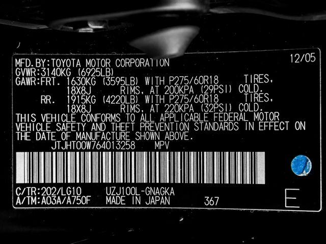 2006 Lexus LX 470 Burbank, CA 35