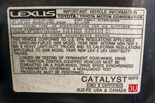 2006 Lexus LX 470 Reseda, CA 46
