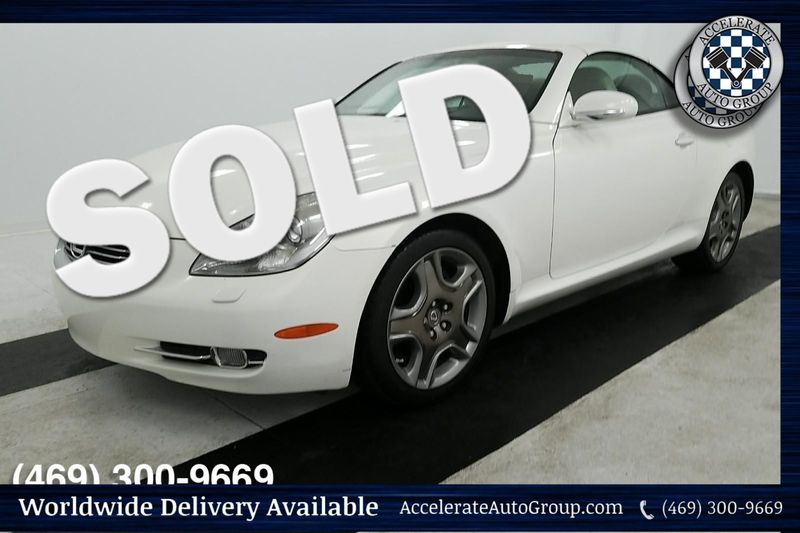 2006 Lexus SC 430 ONLY 46K MILES, SUPER NICE! in Rowlett Texas