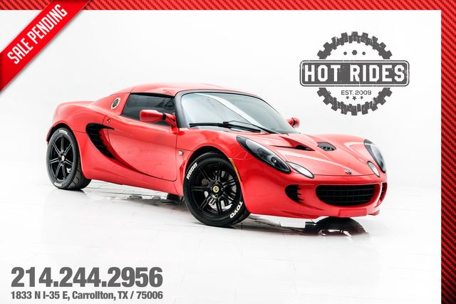 2006 Lotus Elise Supercharged With Upgrades