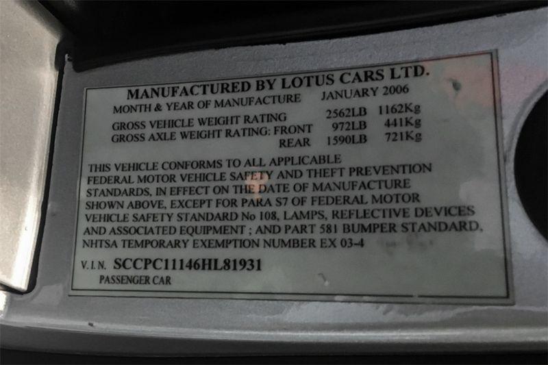 2006 Lotus Exige   city CA  M Sport Motors  in Walnut Creek, CA