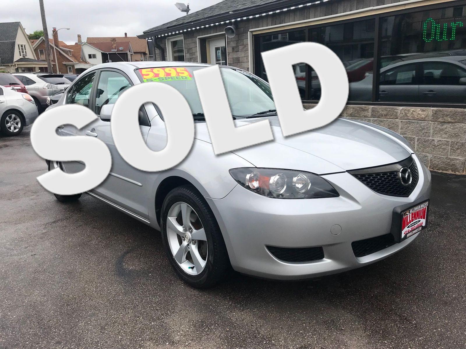 2006 Mazda Mazda3 i city Wisconsin Millennium Motor Sales