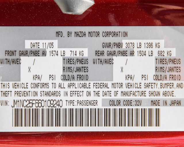 2006 Mazda MX-5 Miata Grand Touring Burbank, CA 31