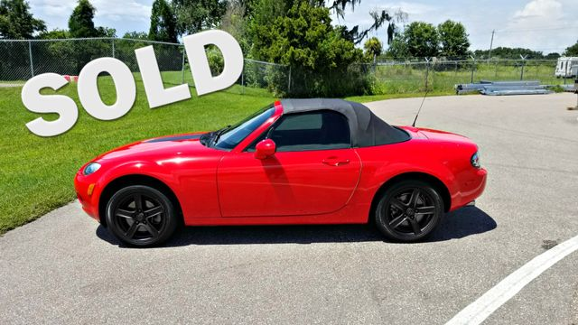 2006 Mazda MX 5 Miata CLEAN CARFAX Touring 5 SPEEN MANUAL | Palmetto, FL | EA Motorsports in Palmetto FL