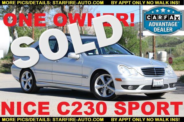 2006 Mercedes-Benz C230 Sport Santa Clarita, CA