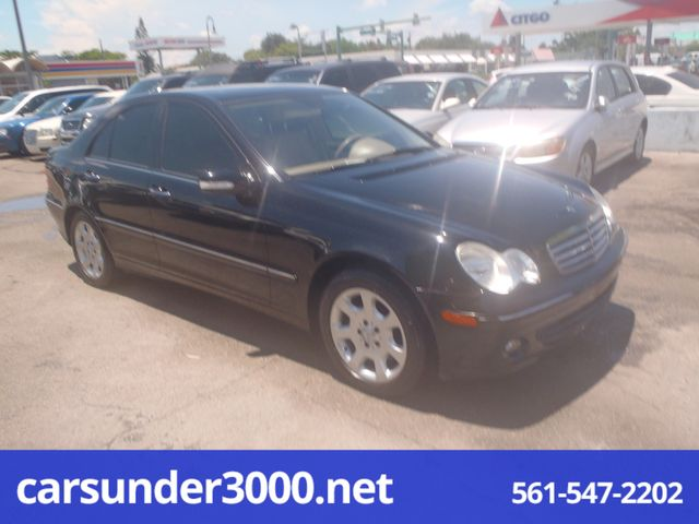 2006 Mercedes Benz C280 Luxury Lake Worth Florida