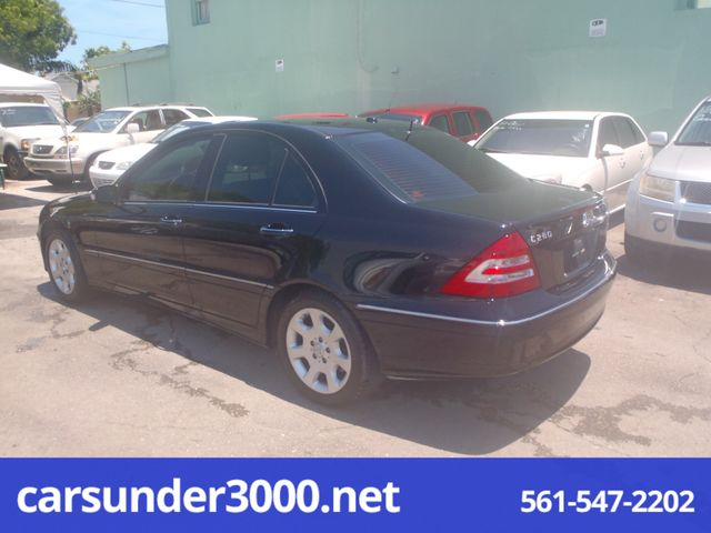 2006 Mercedes-Benz C280 Luxury Lake Worth , Florida 1