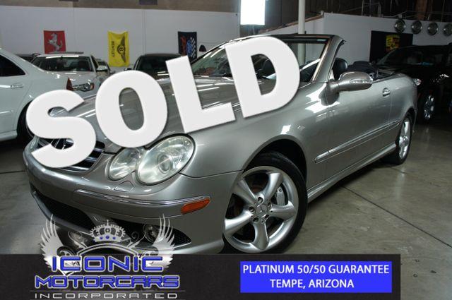 2006 Mercedes-Benz CLK500 Cabriolet | Tempe, AZ | ICONIC MOTORCARS, Inc. in Tempe AZ