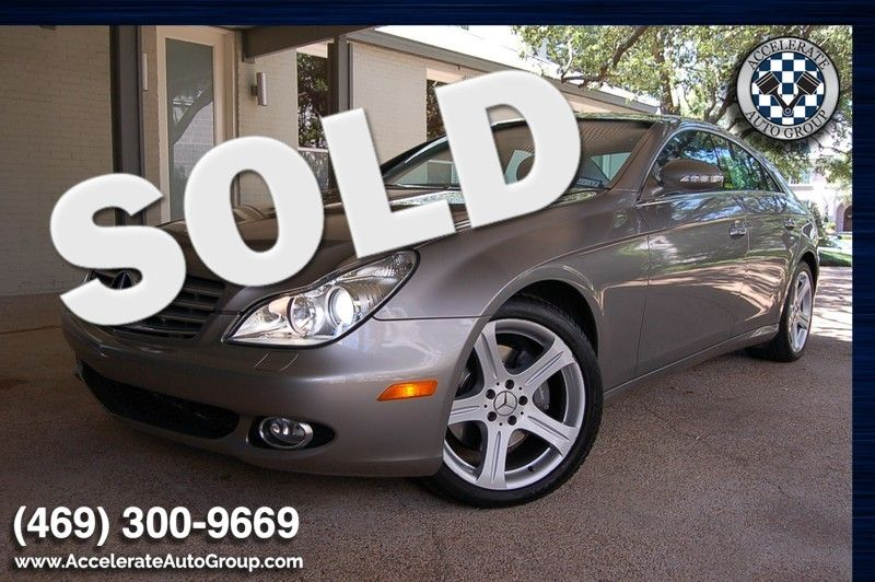 2006 Mercedes-Benz CLS500 CERTIFIED PRE-OWNED ONLY 16,600 MILES in Rowlett Texas