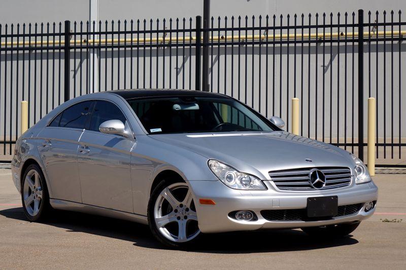 2006 Mercedes-Benz CLS500 Nav*Bu Cam* Sunroof*   Plano, TX   Carrick's Autos in Plano TX