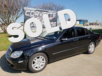 2006 Mercedes-Benz S350 3.7L Sedan Auto, Sunroof, NAV,  Alloys Only 92k!  | Dallas, Texas | Corvette Warehouse  in Dallas Texas