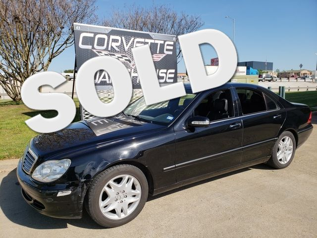 2006 Mercedes-Benz S350 3.7L Sedan Auto, Sunroof, NAV,  Alloys Only 66k!  | Dallas, Texas | Corvette Warehouse  in Dallas Texas