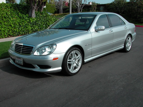 2006 Mercedes-Benz S55 5.5L AMG in , California